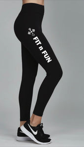 x GET SOME ACTIVE WEAR Women's Fit N Fun Leggings