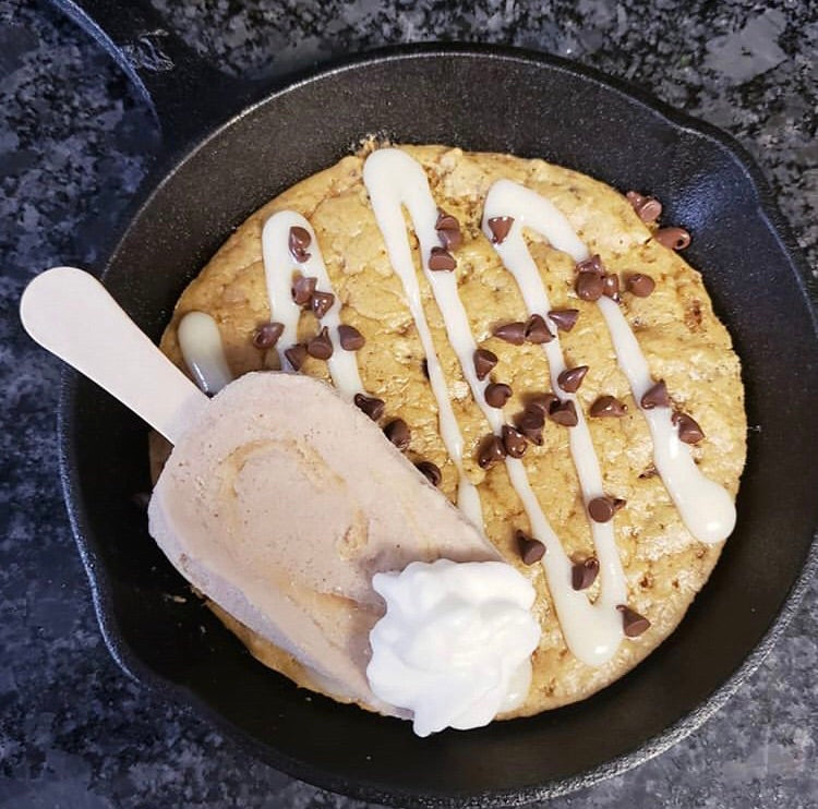 Best Day Ever! Chocolate Chip Pizookie