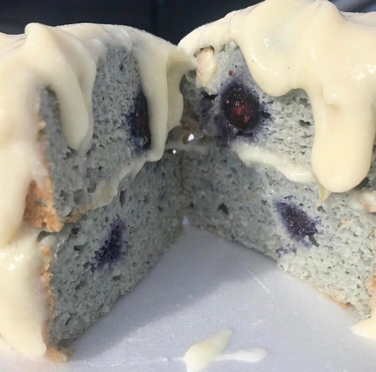 In The Buff - Blueberry Cake