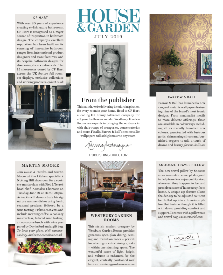 house and garden july issue