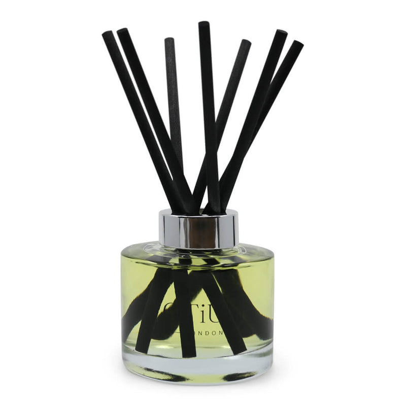 Oitium Diffuser 165ml Clear with 7 black reeds