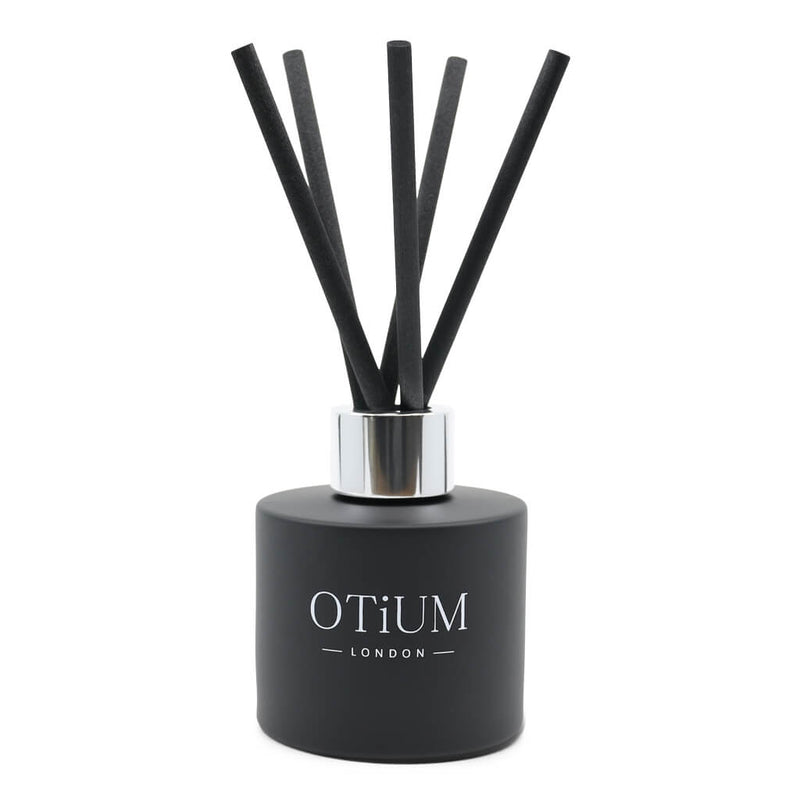 Premium Long Lasting Diffuser 100ml Black with Rose Gold Cap