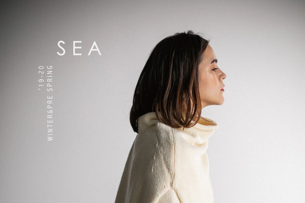 SEA '19-20 WINTER PRESPRING COLLECTION発売のお知らせ
