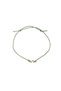 SEA S PLATE DONATION BRACELET (GOLD)