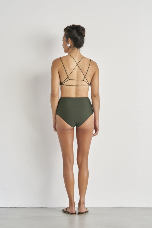 SEA High-rise Back Cross Bikini