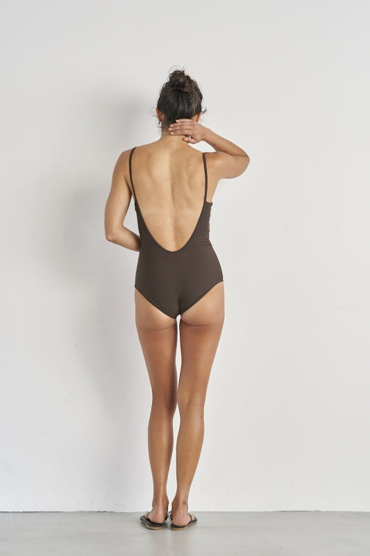 [SALE] SEA Henley neck Swimsuit