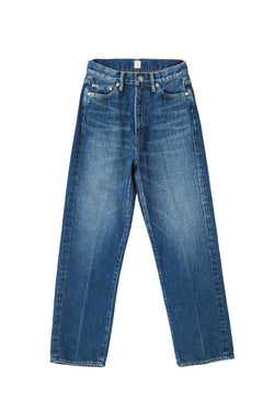 [TAPERED.H] SEA Vintage High-rise Tapered Original Selvedge Denim Pants