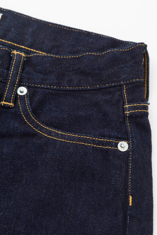 [STRAIGHT.H] SEA Vintage High-rise Straight Original Selvedge Denim Pants