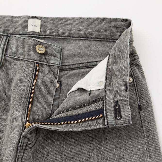 [SALE] SEA Vintage Just Waist Tapered Remake Denim Pants