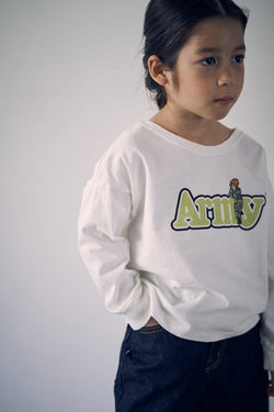 SEA CHIBI Graphic TEE(ARMY)