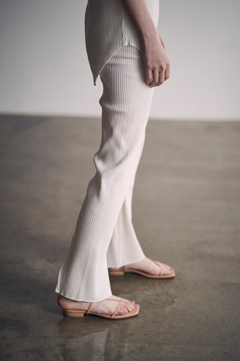 SEA Ribbed Flare Pants