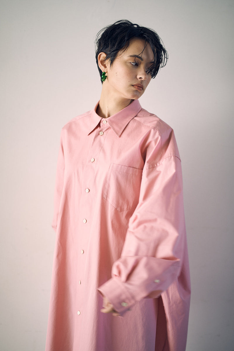 [PRE ORDER] SEA BROADCLOTH MASCULINE OVERSIZED SHIRT