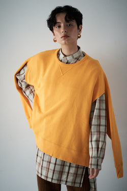 SEA 2-IN-1 VINTAGE  CAPE SWEATSHIRT