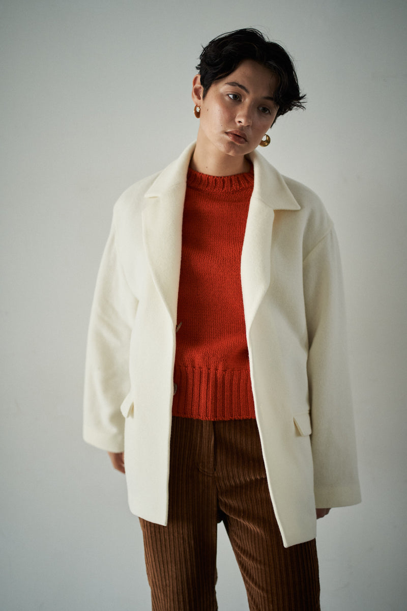 SEA OVERSIZED MELTON JACKET