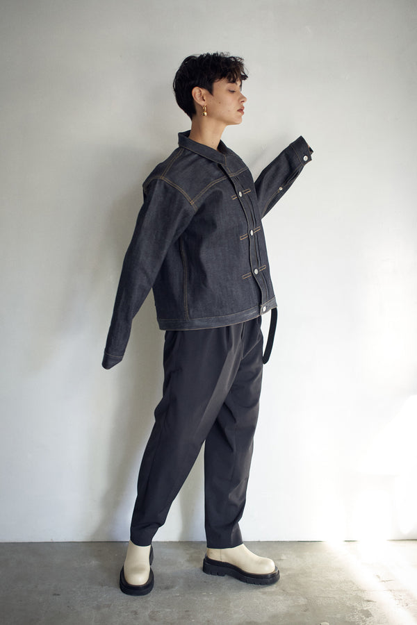 SEA VINTAGE OVERSIZED SELVEDGE DENIM JACKET