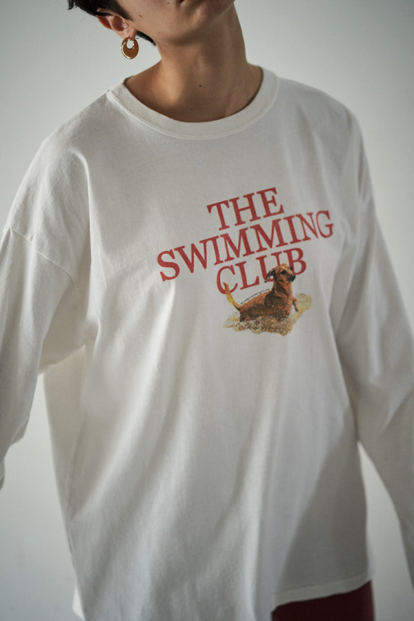 SEA GRAPHIC L/S TEE (SWIMMING CLUB)
