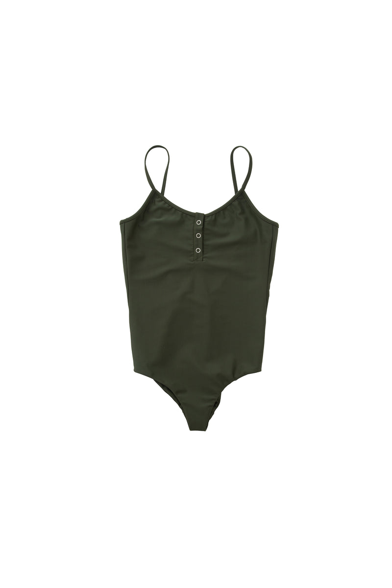 SEA Henley neck Swimsuit