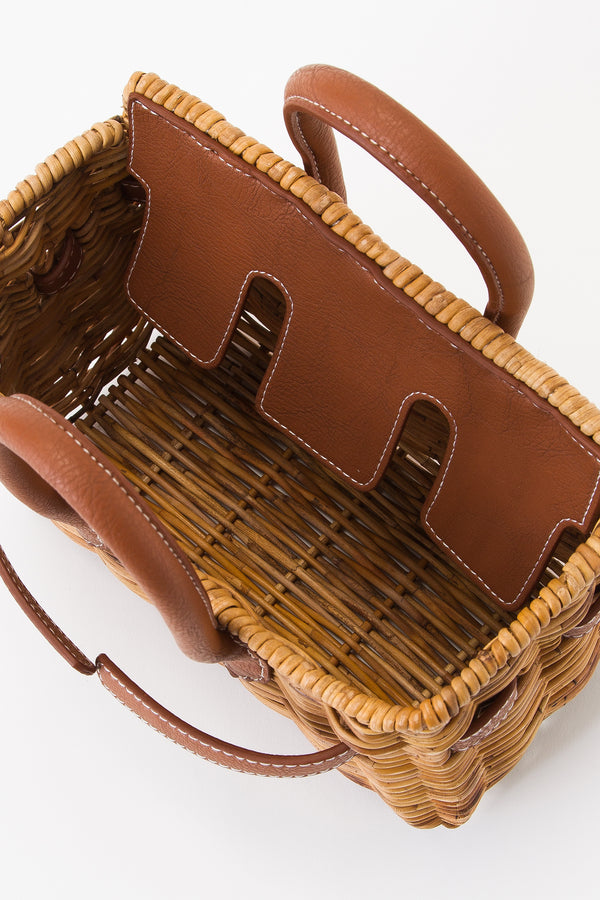 SEA Rattan Basket Bag (Small)