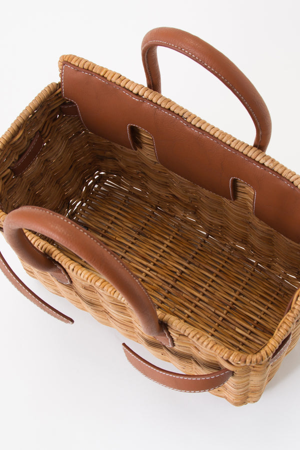 SEA Rattan Basket Bag (Medium)