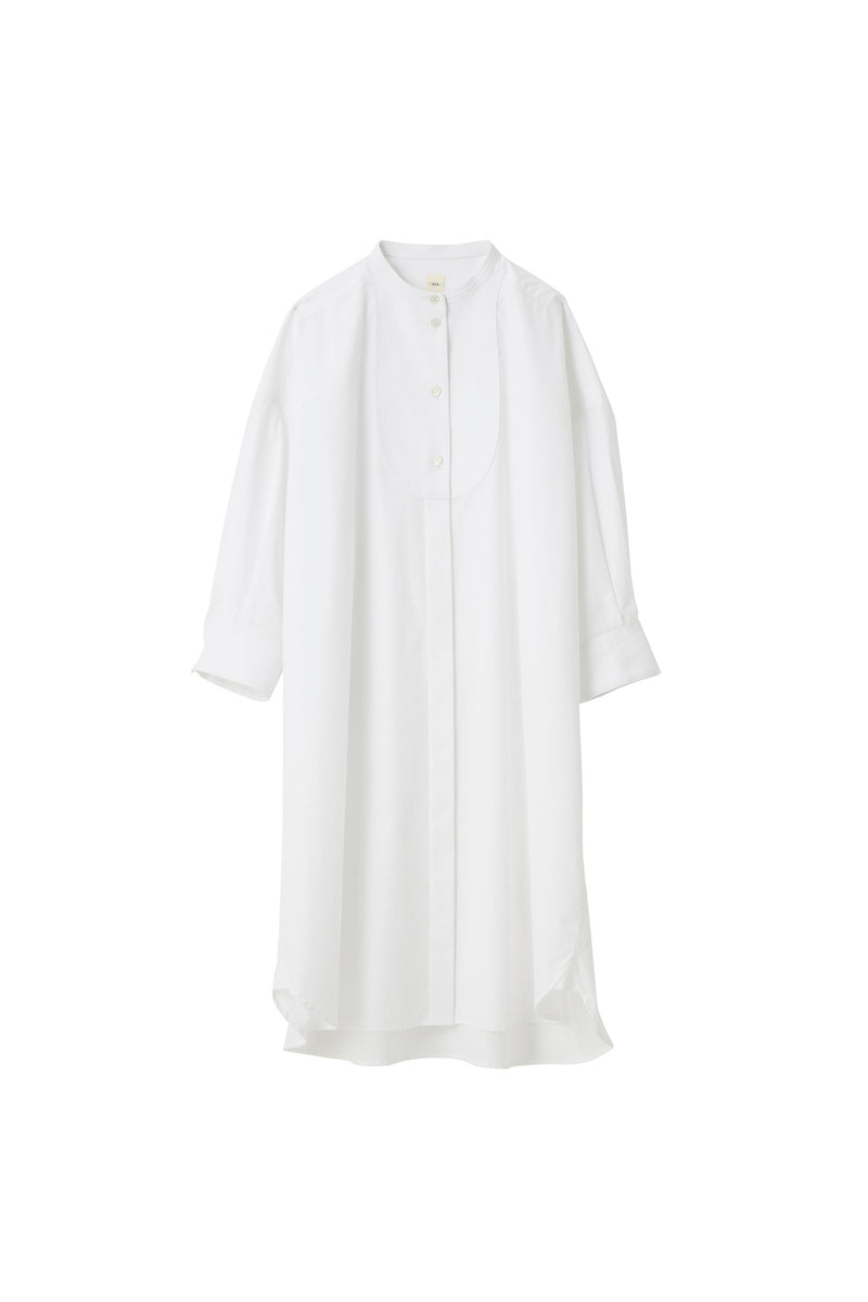 SEA Broad Cloth Oversized Tuxedo shirt dress