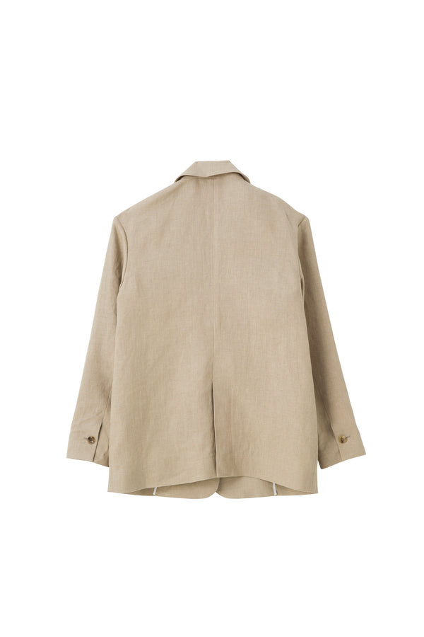 SEA Heavy Linen Oversized Jacket