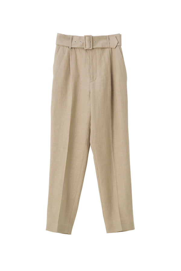 SEA Heavy Linen Trousers with Belt