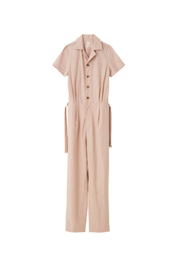 SEA Typewriter cloth Bowling Jumpsuit