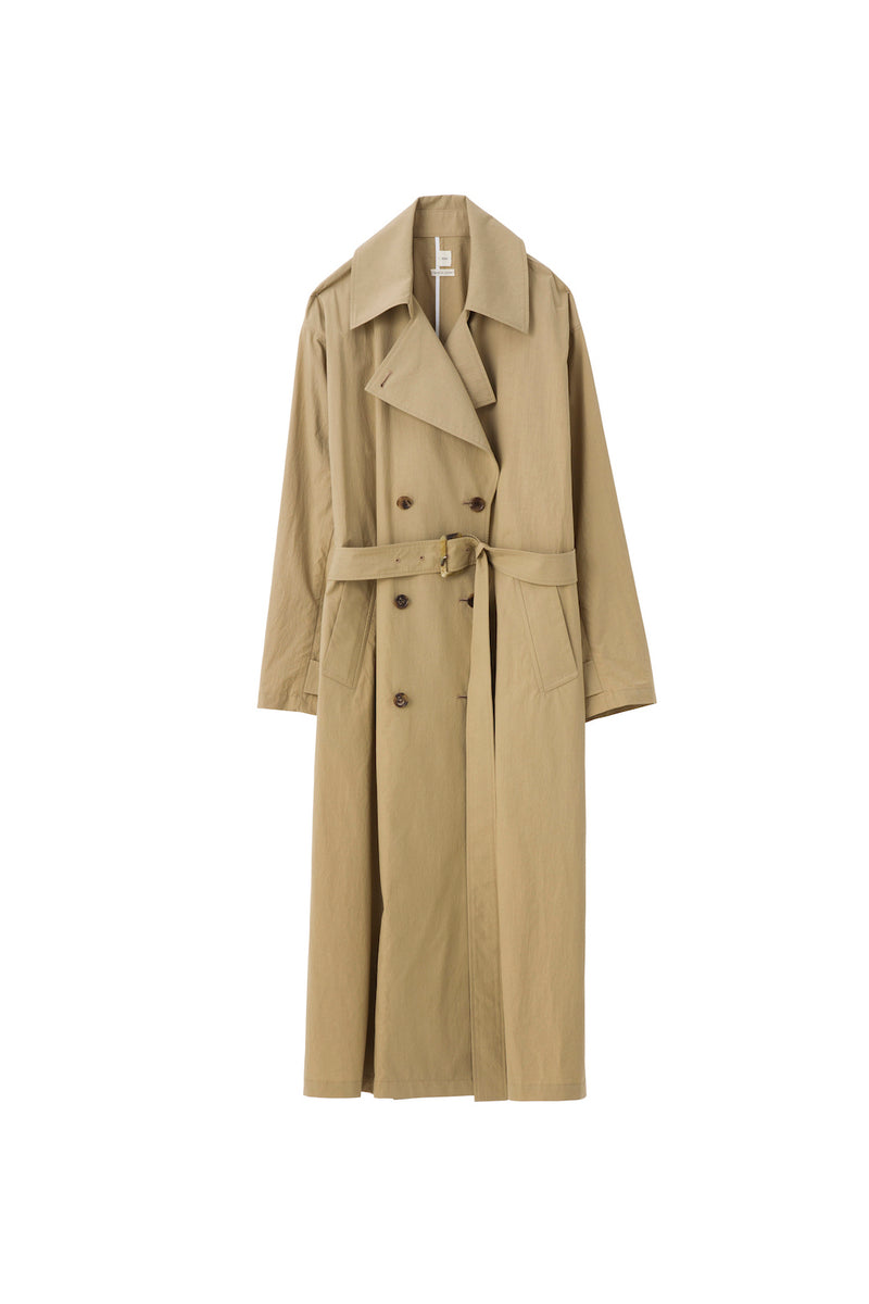 SEA Typewriter cloth Trench Coat