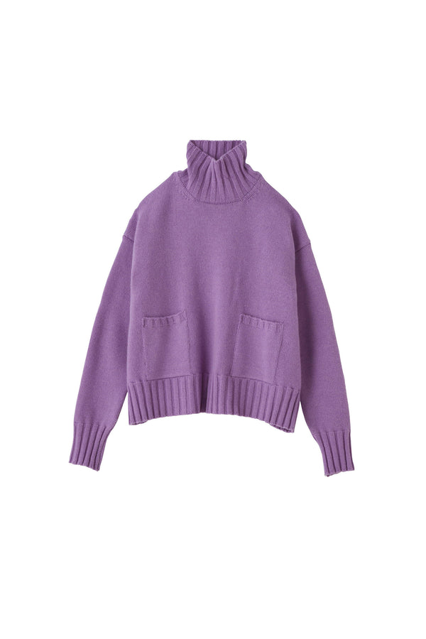 SEA Wool Cashmere Turtleneck Sweater