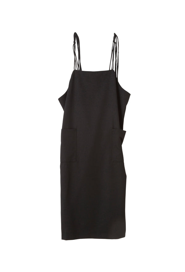 SEA Wool Serge Apron Dress