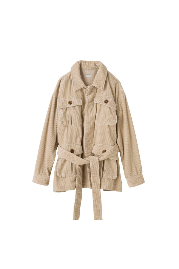 SEA Corduroy Safari Jacket