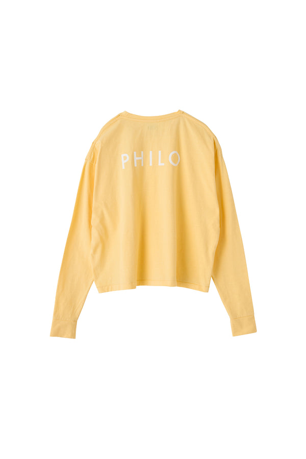 "SEA Vintage ""PHILO"" Graphic Long sleeve T-shirt"