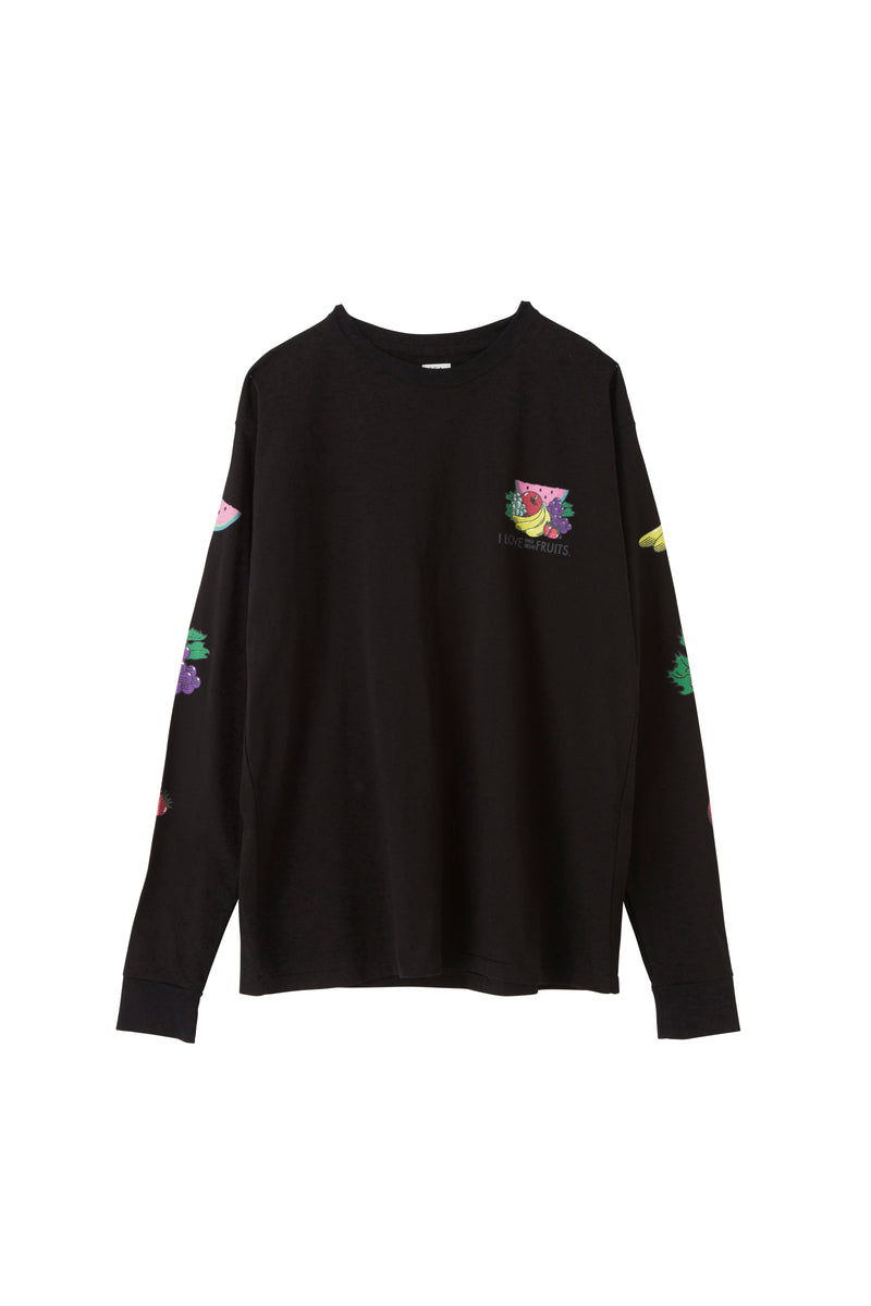 "SEA Vintage ""FRUITS"" Graphic Long sleeve T-shirt"
