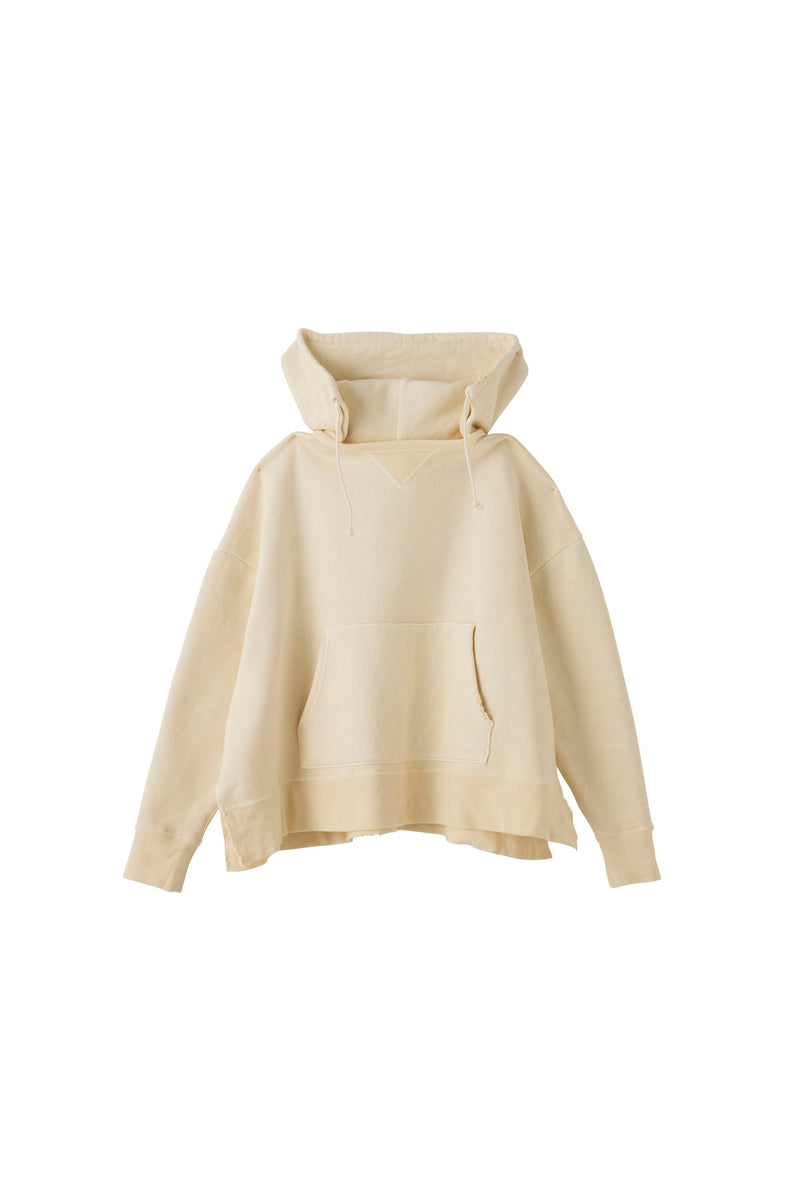 SEA Vintage Raised Back Oversized Hooded Sweatshirt