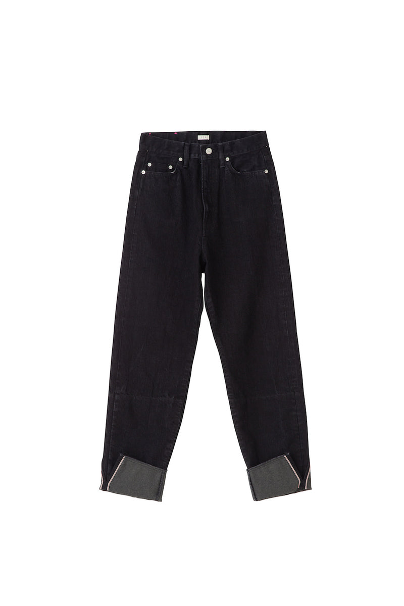 SEA Vintage Relax Denim Pants with Tall Cuff