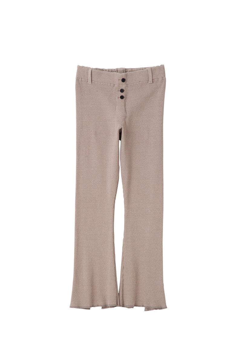 [SALE] SEA Vintage High-rise Ribbed Flare Pants