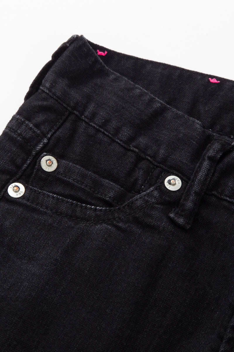 [SALE] SEA Vintage High-rise Slim Cropped Flare Denim Pants