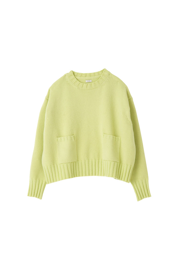 SEA Wool Cashmere Crewneck Sweater