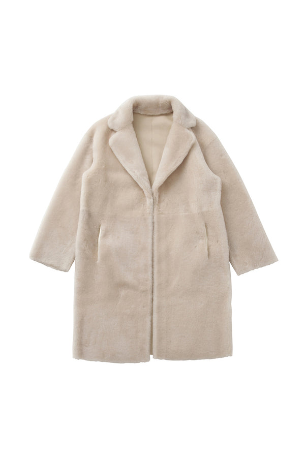SEA Long Mouton Coat