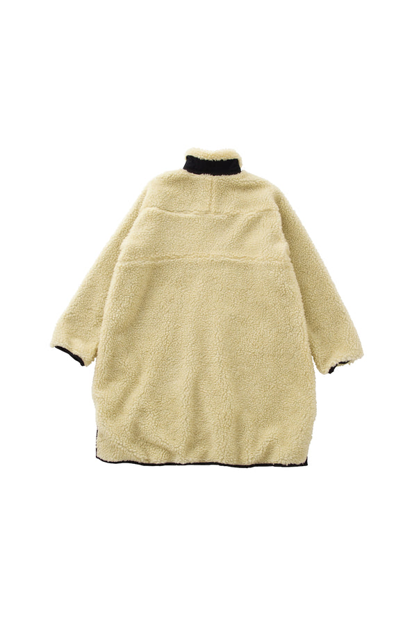 SEA Vintage Oversized Fleece Long Jacket