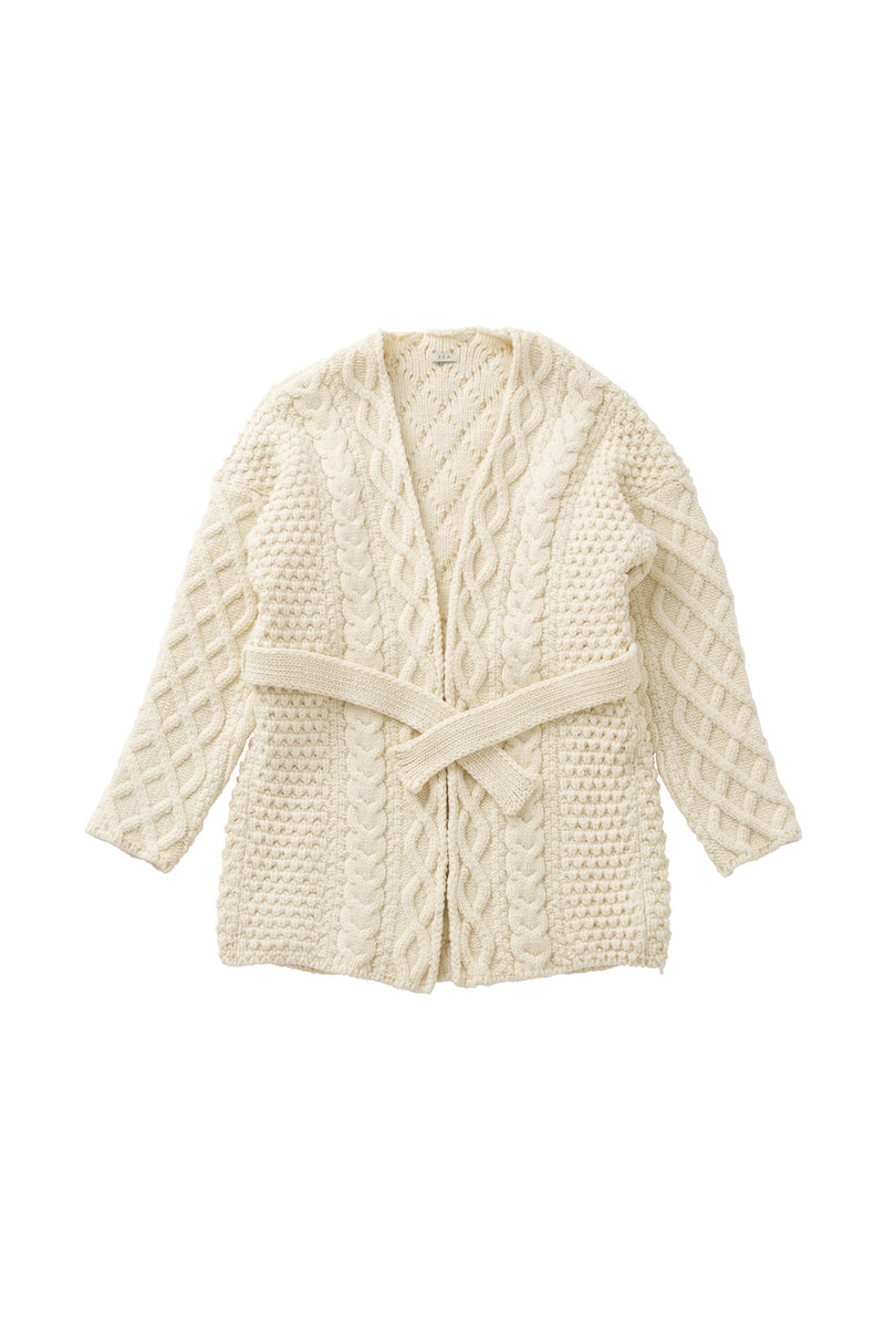 SEA Oversized Cardigan in Cable-knit