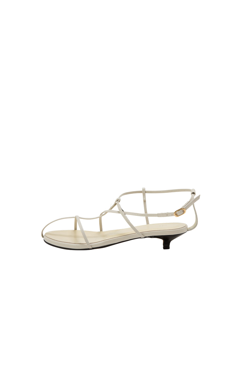[PRE ORDER] SEA LEATHER NUDE STRAP SANDALS
