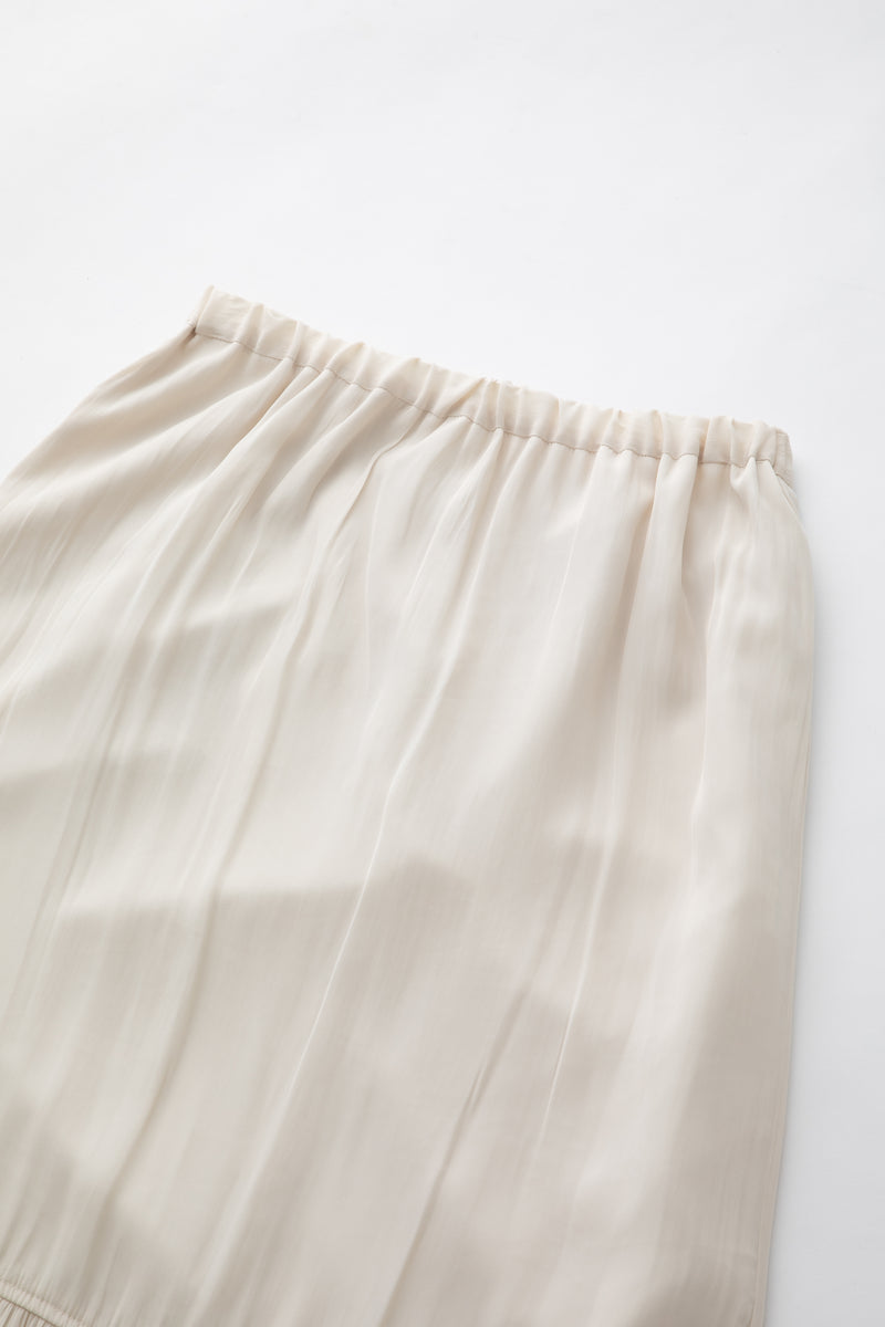 SEA Washable Satin Maxi Skirt
