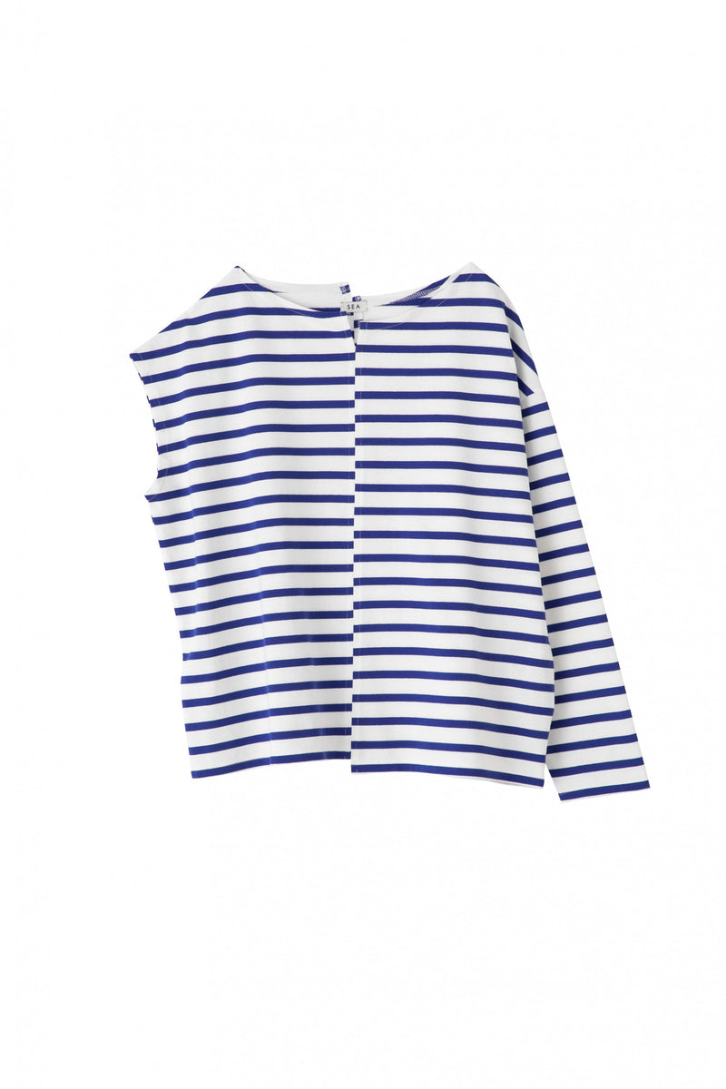 SEA SWITCHING BASQUE SHIRT