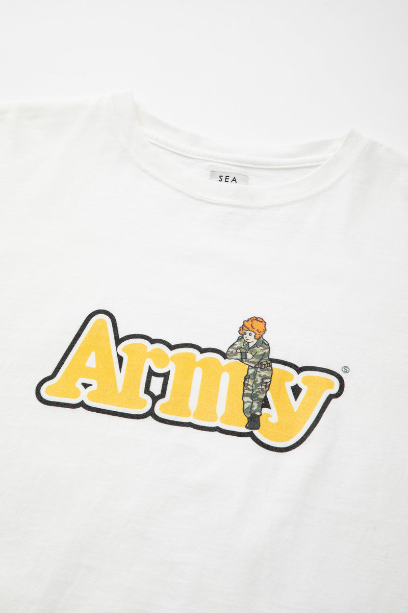 SEA GRAPHIC TEE (ARMY)