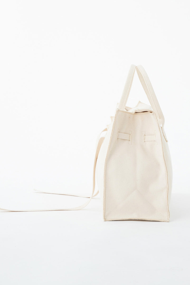 SEA PARODY CANVAS BAG B/L