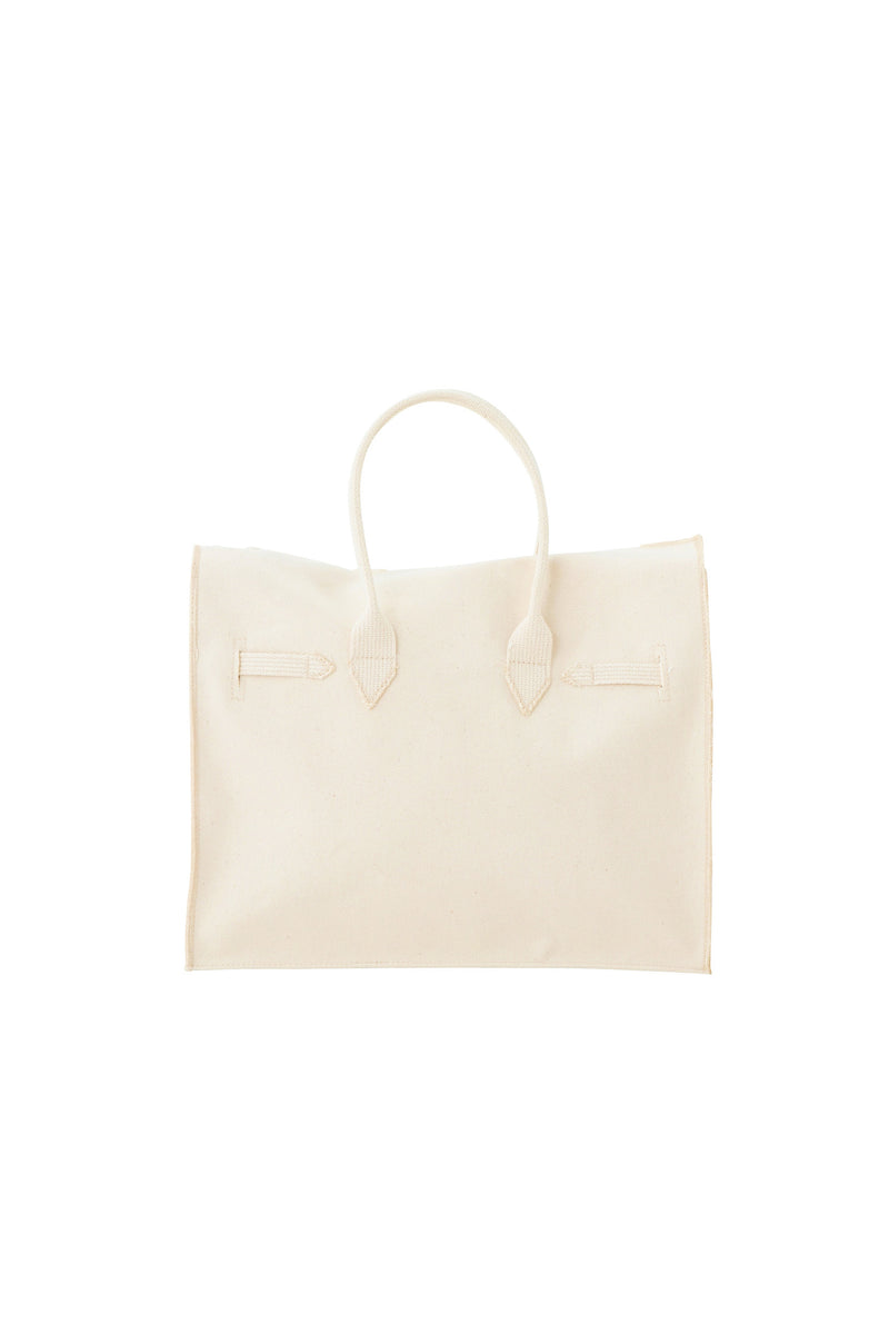 SEA PARODY CANVAS BAG B/M