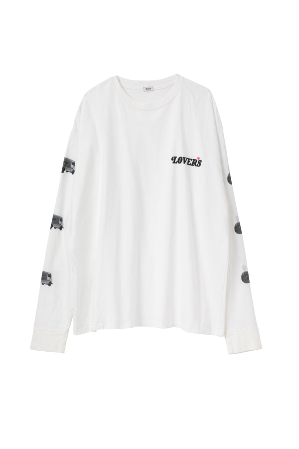 SEA GRAPHIC L/S TEE (LOVERS)