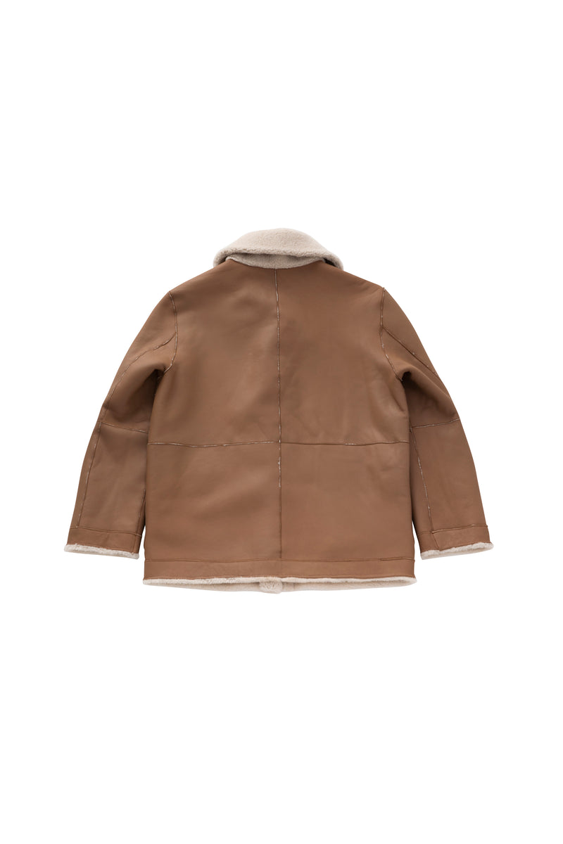 SEA MOUTON REVERSIBLE JACKET
