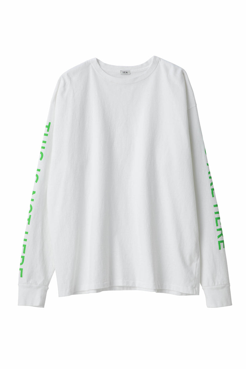 [PRE ORDER] SEA VINTAGE GRAPHIC L/STEE (THIS IS NOT HERE)